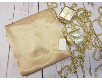 Шелковый халат золотой