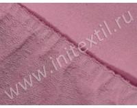 Простынь на резинке махровая, фиолетовая