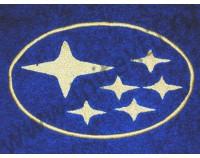 """Полотенце с вишивкой логотипа """"Subaru"""""""