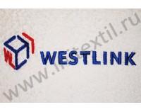 "Вышивка логотипа ""Westlink"" на порлотенце"