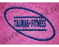 "Вышивка логотипа ""Таурас Фитнес"""