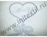 "Полотенце ""Argenti"" с вышивкой в сердце"