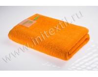 """Махровое полотенце """"ReVolution"""" оранжевое"""