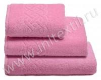 """Полотенце махровое """"Plait"""", розовое"""