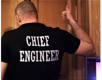 "Поло с вышивкой ""Chief Engineer"""