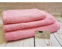 "Полотенце махровое ""Premium"" розовое"