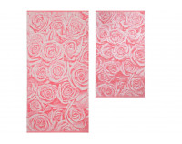 "Полотенце махровое ""Pink Roses"""