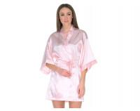 """Шелковый халат """"Perfectly"""" нежно розовый"""