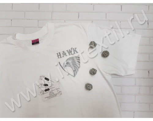 "Футболка с вышивкой ""Hawk"""