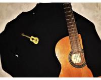 """Толстовка свитшот с вышивкой """"Гитара"""""""